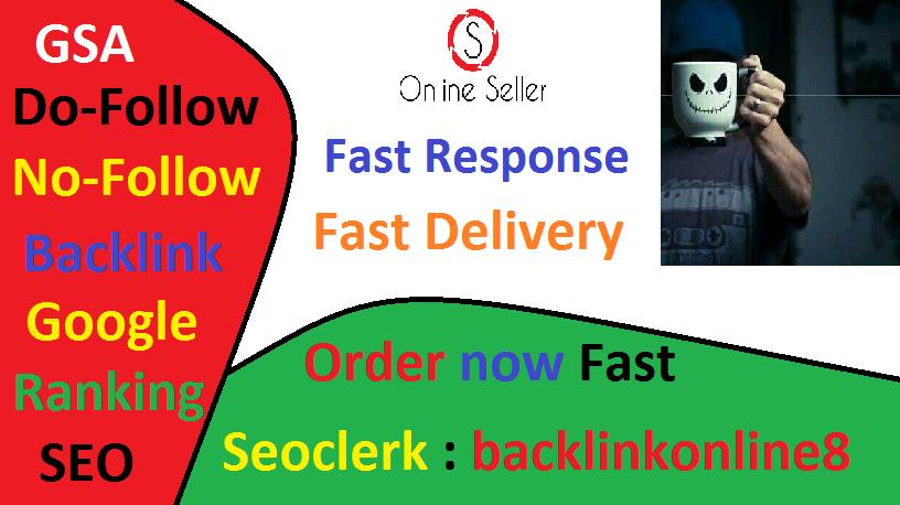 High Quality 1 million verified Gsa Dofollow Ser SEO backlink High Authority For Fast Google Ranking