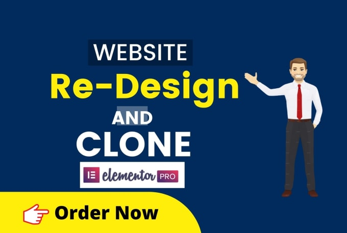 I will copy,  clone websites and redesign wordpress website