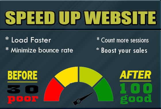 I will speed up your web pages with google page speed insight and gtmetrix