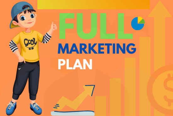 I will craft a digital marketing strategy and plan for your business and brand growth