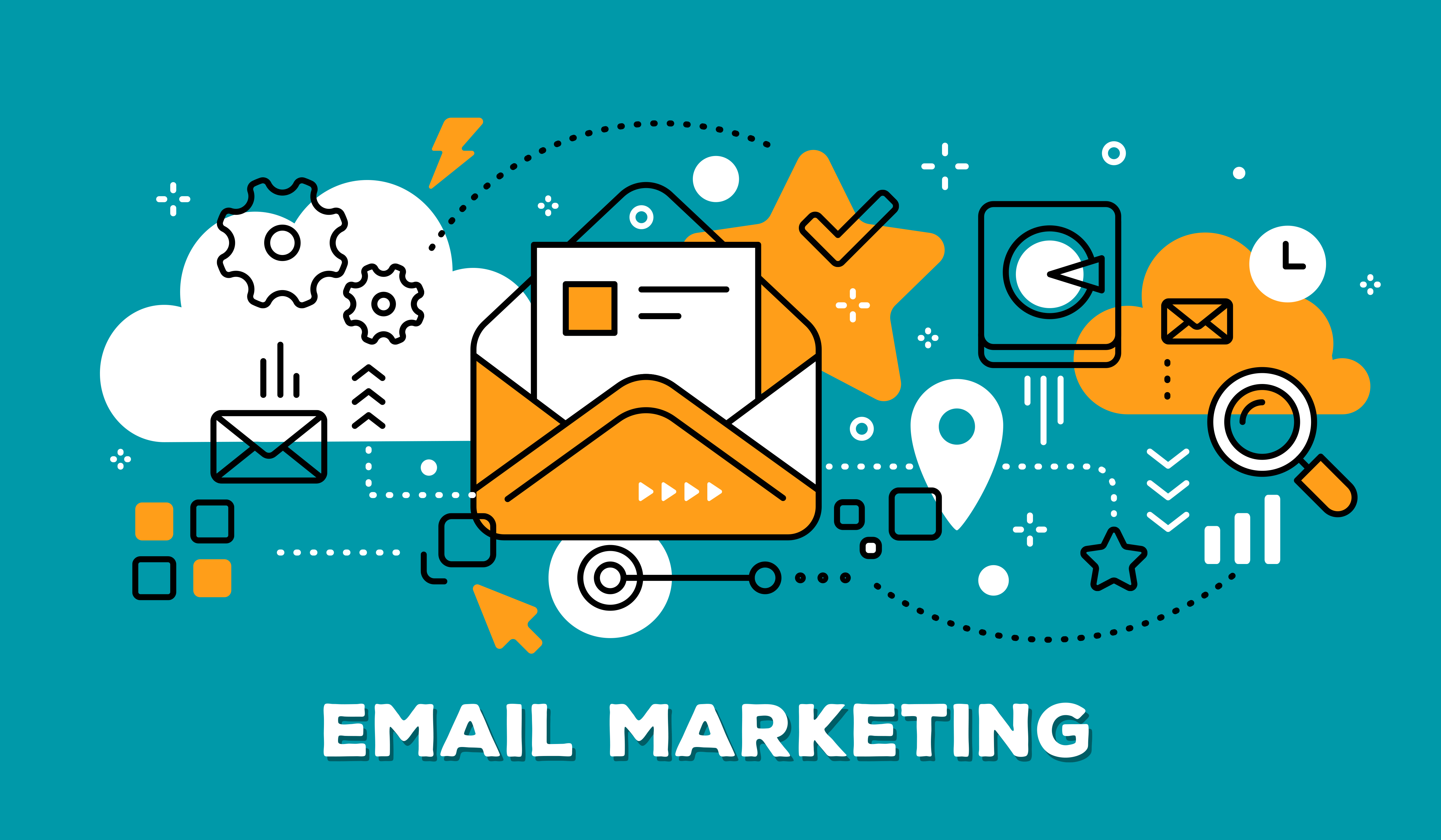 Data e-mail marketing USA 960 millions e-mail 2018 for leads.