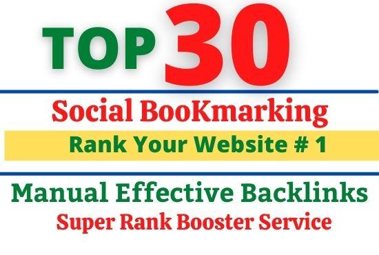 Create 3o+ Social Bookmarking Form