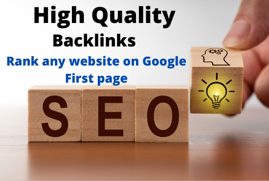 I Will do Off-Page SEO Monthly Service With HQ Backlinks