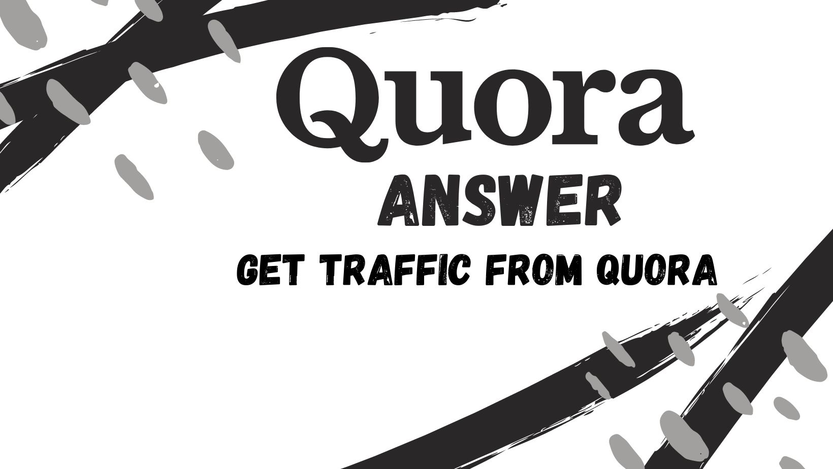 Provide High Quality 30 Quora Answers with keyword & URL