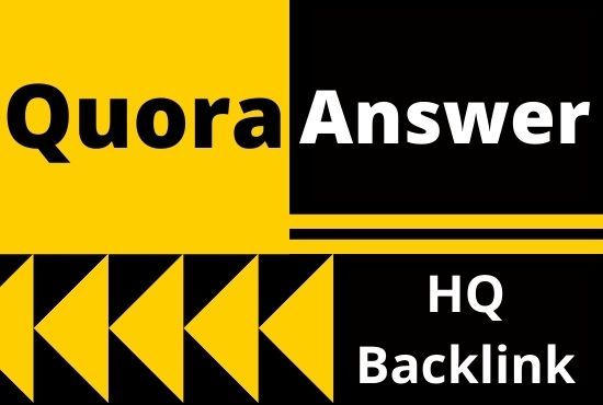 40+ Unique Quora Answer With High Quality Clickable Backlinks