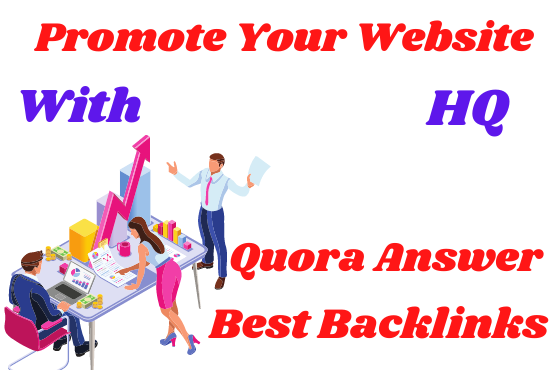20+ Unique Quora Answer With High Quality Clickable Backlinks