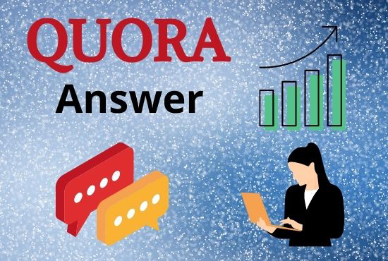 I Will Provide 15+ Quora Answer With High Quality Clickable Backlinks