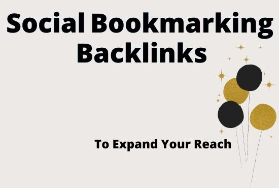 I will build Top 30+ social bookmarking backlinks with unique ip for rank up your website