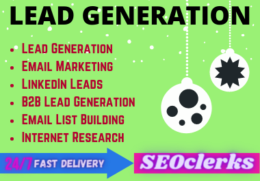 I will do LinkedIn Lead Generation and Email List Building