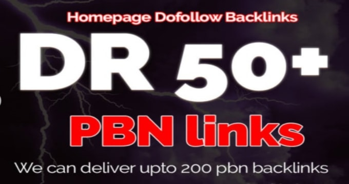 Make 20 Pbn Dr 60+ HomePage Pbn's Backlinks