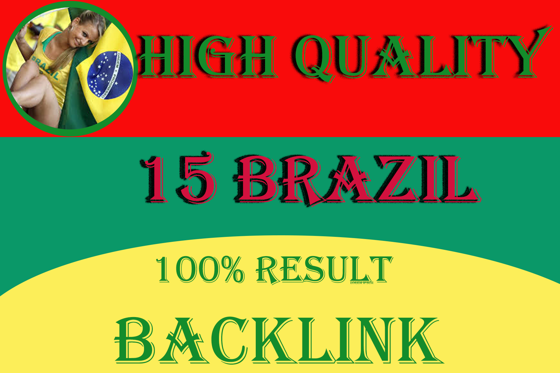 I will do high quality 15 seo backlink brazil site DR
