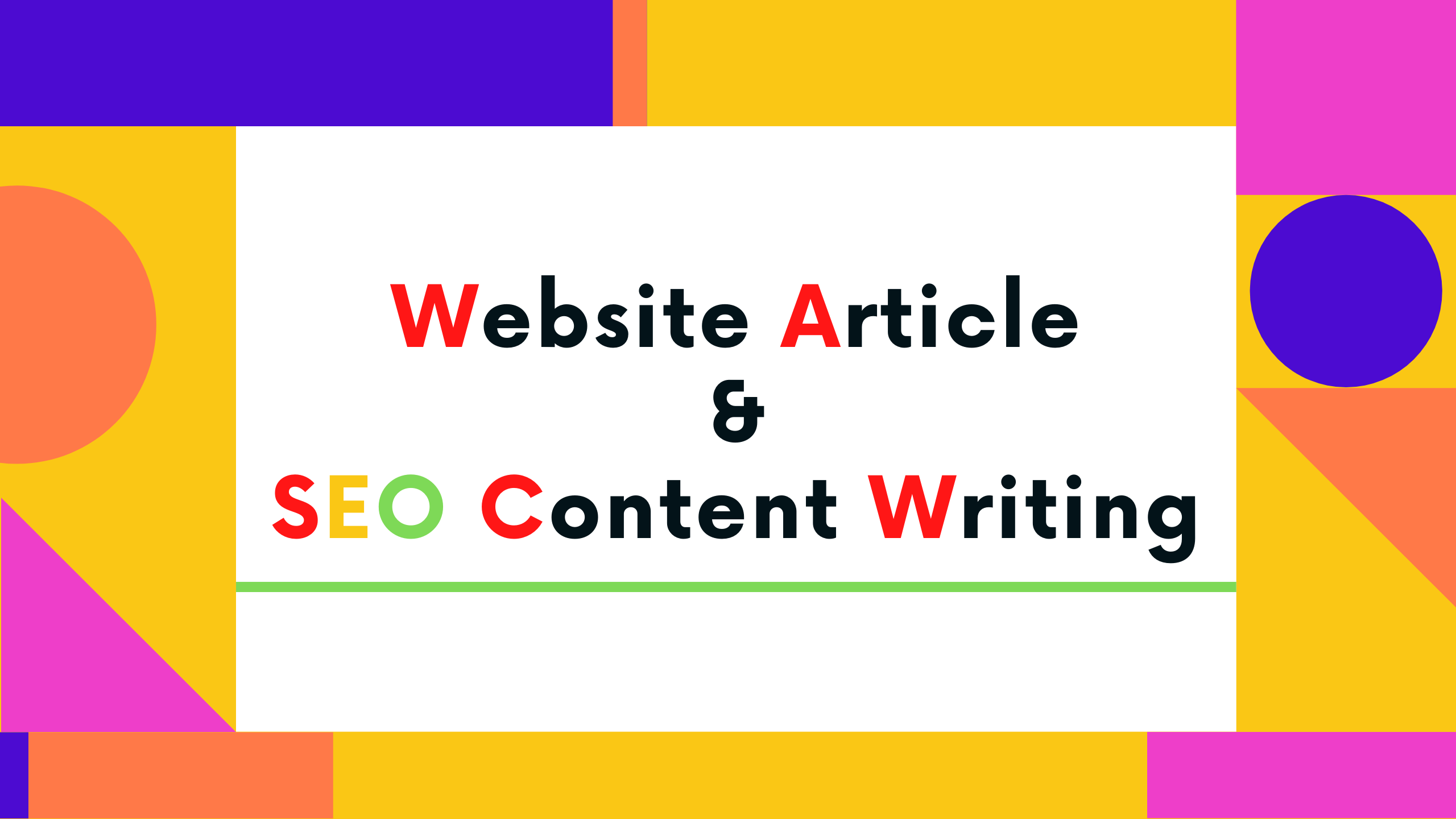 Write 1200+word SEO Optimized Content and Website Article writing