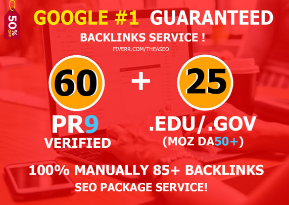 boost your google SEO ranking with 85 pr9, edu dofollow backlinks