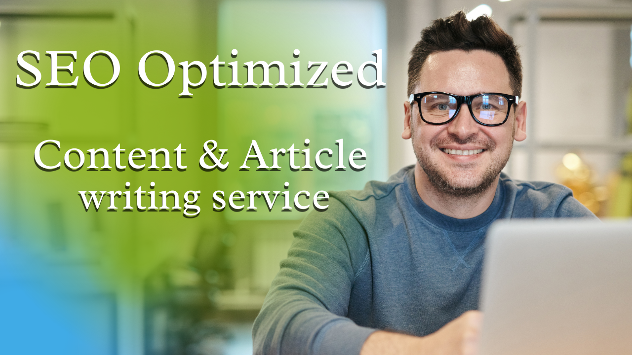 Write 1200+word SEO Optimized Article and Content writing