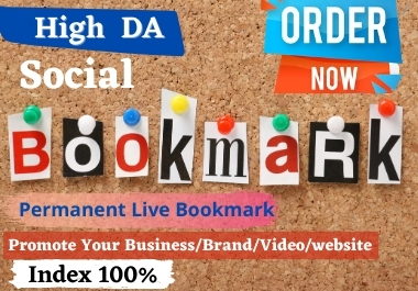 High DA 30 Social Bookmark for Your Website Boost Your Traffic