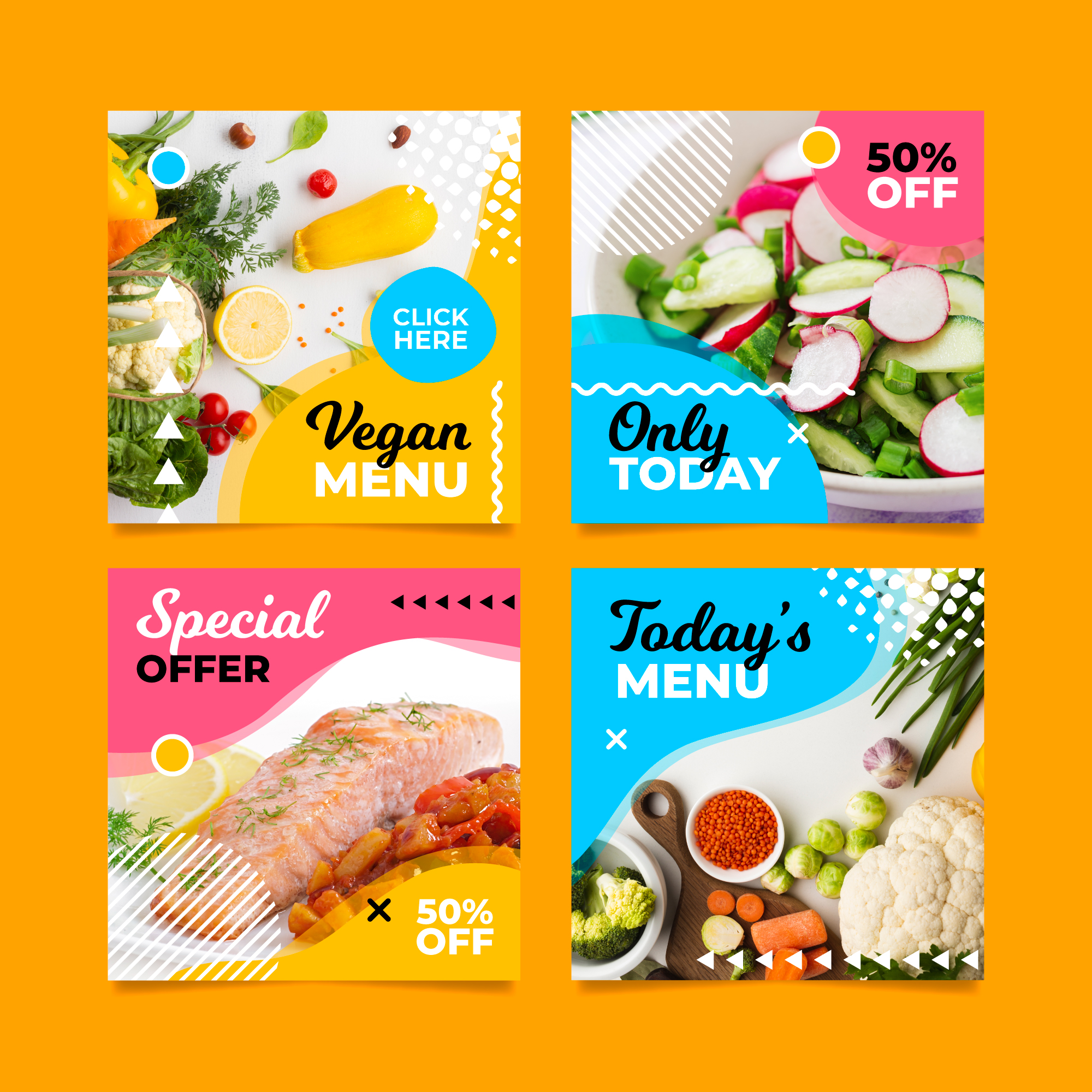 I will design engaging professional eye catchy instagram or facebook post for you