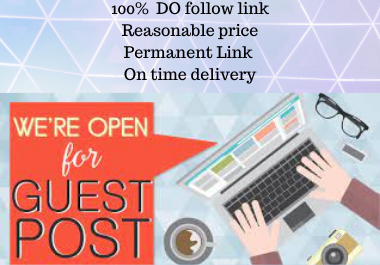 Write and Publish 5 Guest Post Rank Booster rank fast permanent backlink contextual Link building