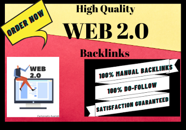 Manual 30 Web 2.0 backlinks High Authority link building permanent natural