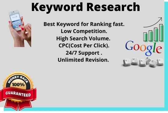 Long tail, low competitive keywords for you within 24 hours and suggest you the best.