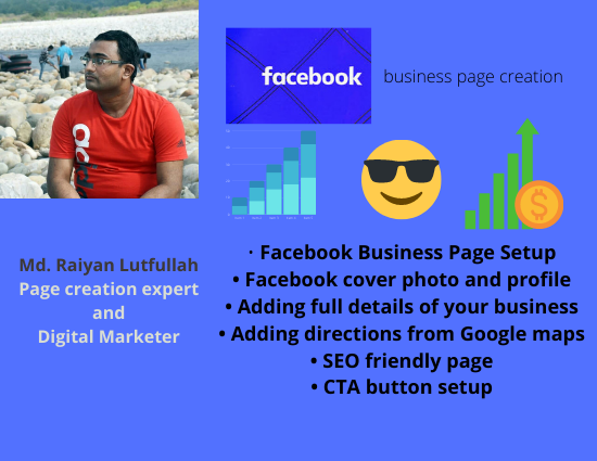 Want to create SEO friendly and attractive facebook business page I will help you do that effective