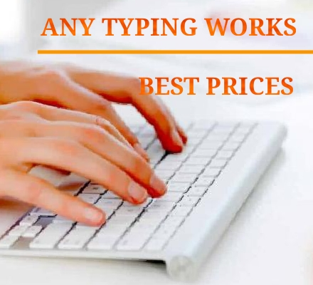 I will do accurate extra fast typing job