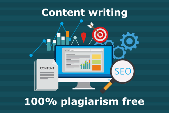 I will write SEO optimized & Plagiarism free content.
