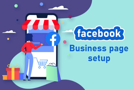 I will create professional facebook business page for you.