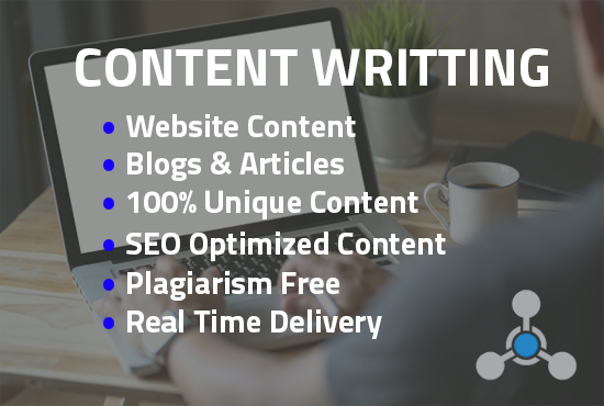 I will write 1500 words unique content like blog posts,  SEO content and more