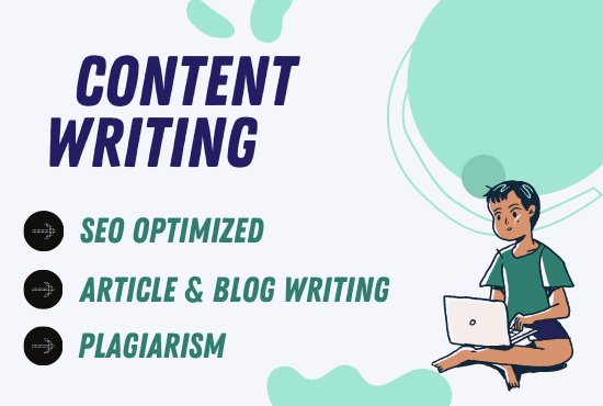 I will write high quality seo friendly content for your website