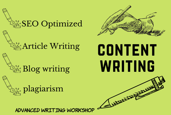 I will write 1200 words SEO friendly content for your website