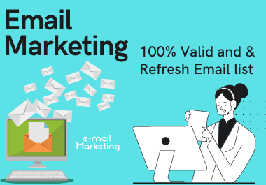 I will collect niche targeted email list clean,  verified 5000 emails