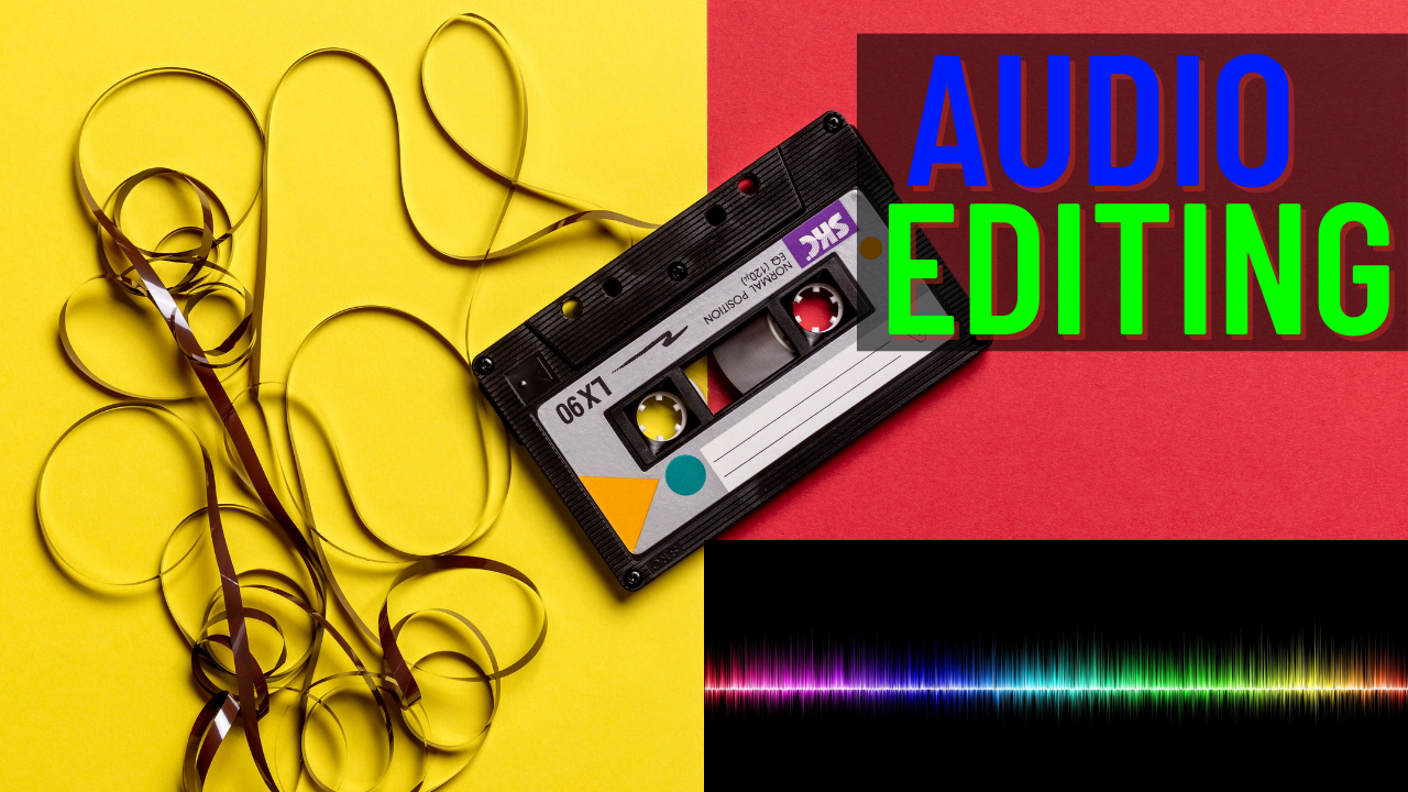 I will professionally edit and improve your audio