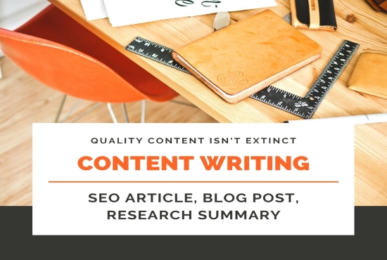 I will write 1200 words seo friendly content for your business