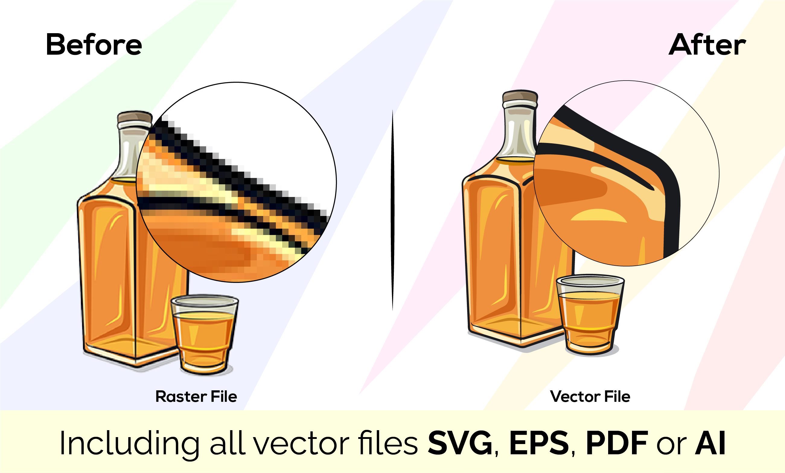 I'll do Vector Tracing, Redraw your logo, Handwriting sketch to vector files