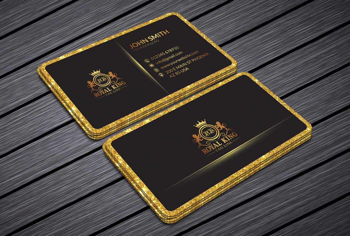 I will design professional, modern, unique, luxury, minimalist business card with print ready