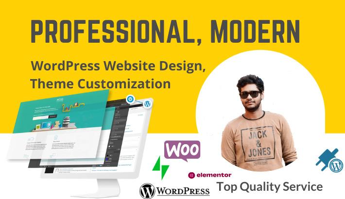 WordPress Install, Design & Coustomization