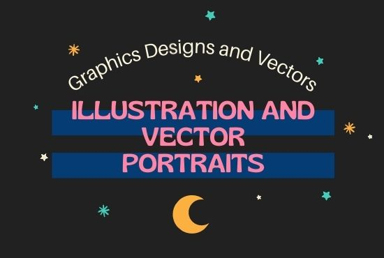 I will do Vector art and Illustrations