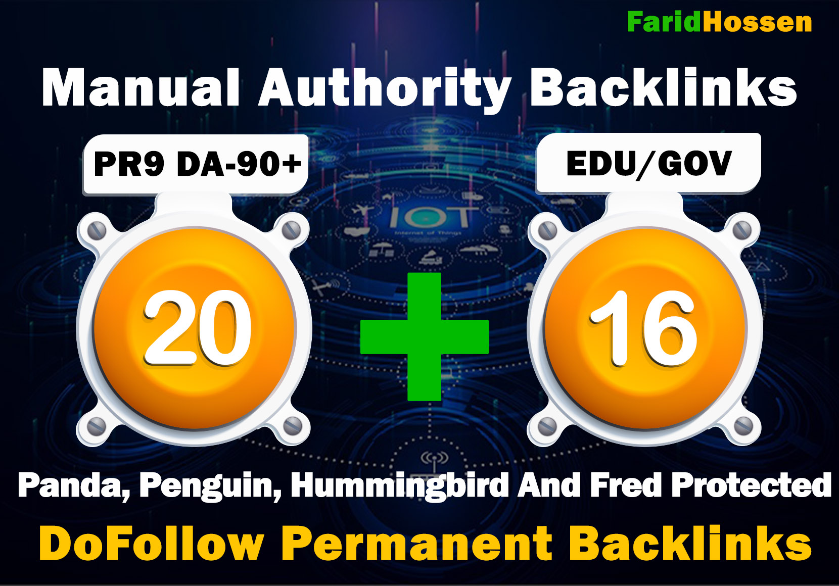 Manual 20 PR9 + 16 EDU GOV High Authority Backlinks for Boost Your Website Ranking