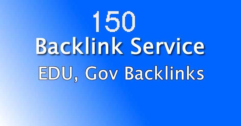 I will 150 edu gov high authority SEO link building backlink manually