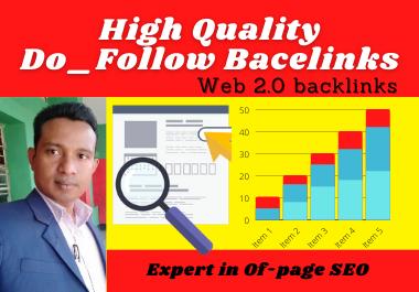 I will build 100 authority web 2.0 backlinks