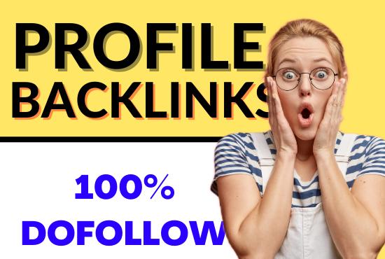 20 Dofollow Profile Creation Backlinks