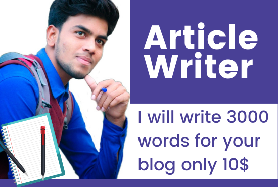 I will write 3000 word SEO articles on any topic in 48 hours
