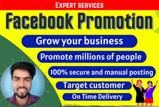 I will do promote Facebook for your business in USA