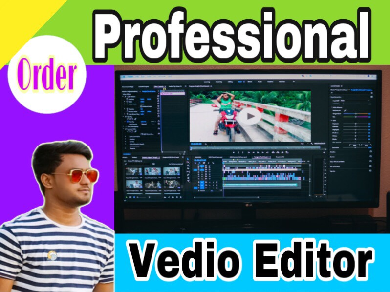 I Will Make you a Professional smooth and clear high quality HD VEDIO