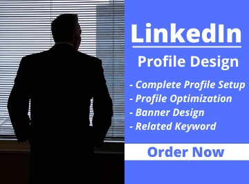 I will do your Linkedin Profile Design Professionally