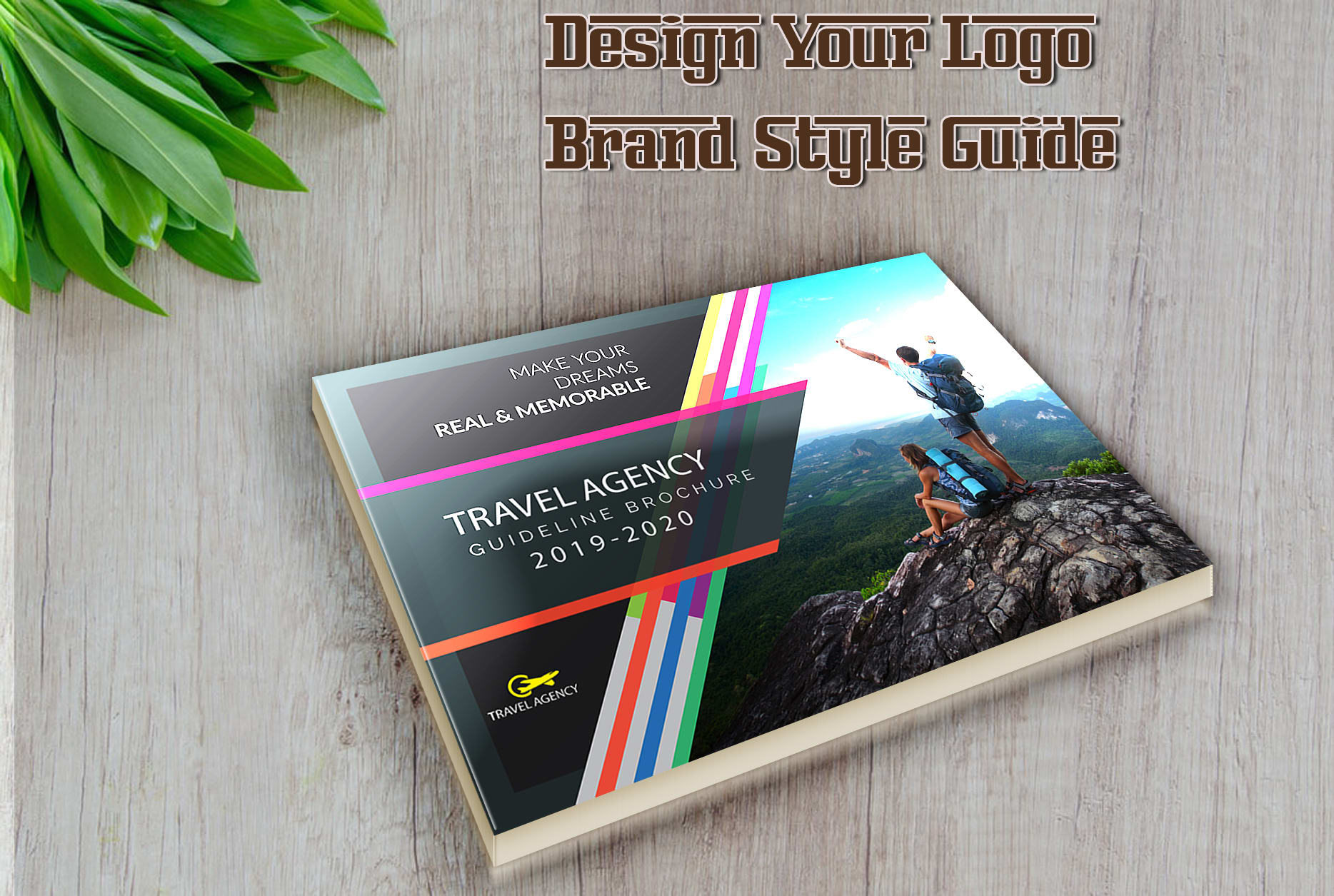 I will design your logo and brand style guide quickly