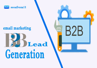 I will do B2B Lead Generation targeted Email list,  Web Research 20 leads