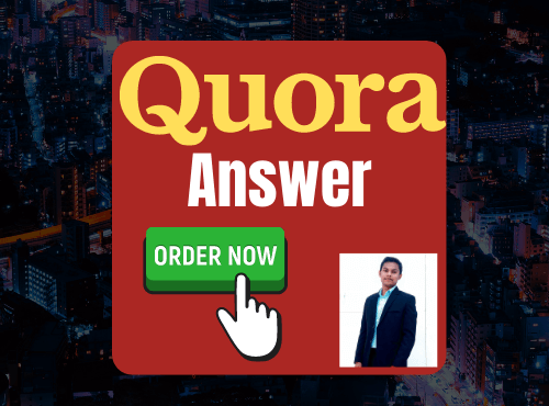 Provide targeted traffic with 30 best quality quora answers