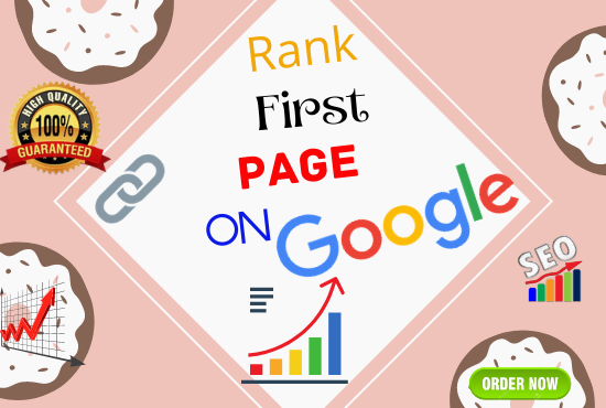 Monthly Off Page Seo Service for 4 Keywords Guaranteed Google First page ranking