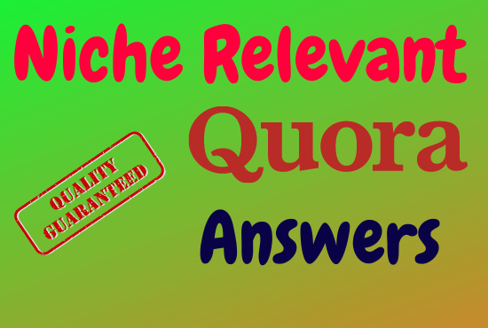 I will Provide Guaranteed targeted Traffic With 20 High Quality Quora Answers